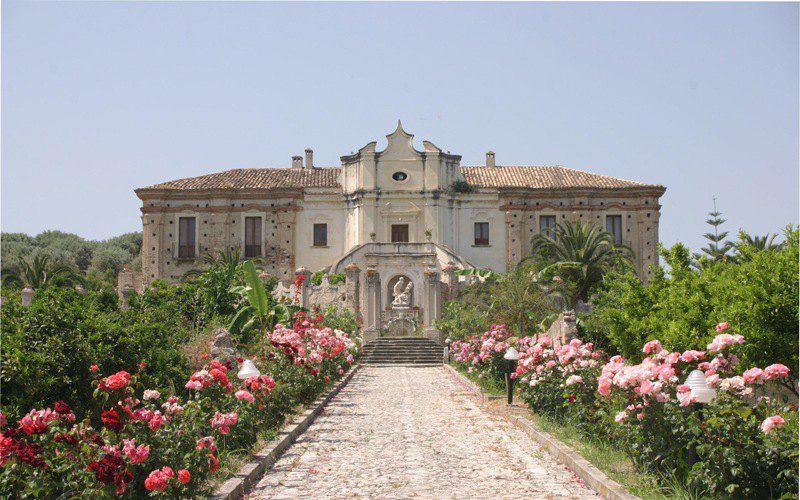 Stignano RC: Villa Caristo esempio Barocco della Calabria Borbonica.